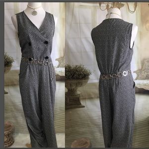 Max Studio Ladies Sleeveless Jumpsuit NWOT